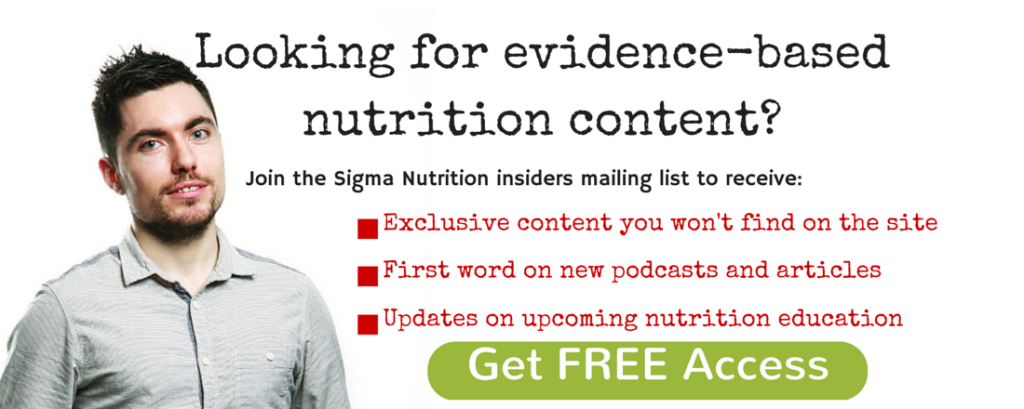 Looking for evidence-based nutrition (3)