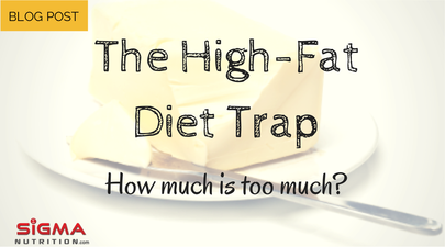 high fat diet trap