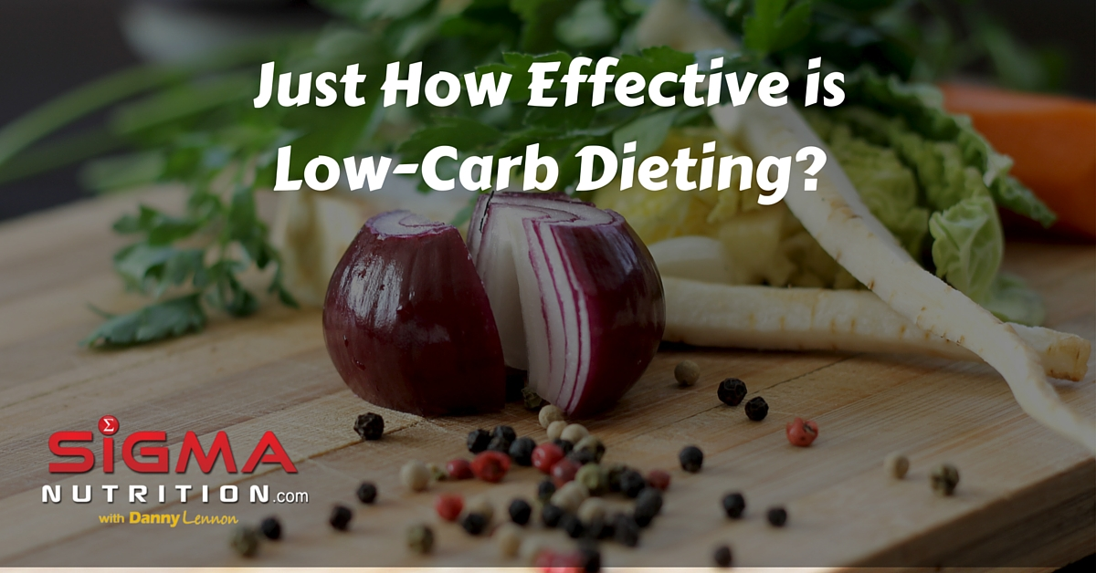 Just how effective is low carb dieting