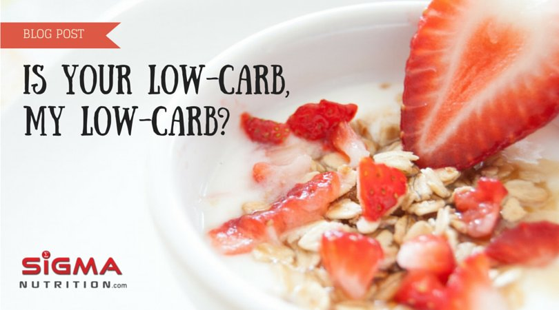 is your low my low carb