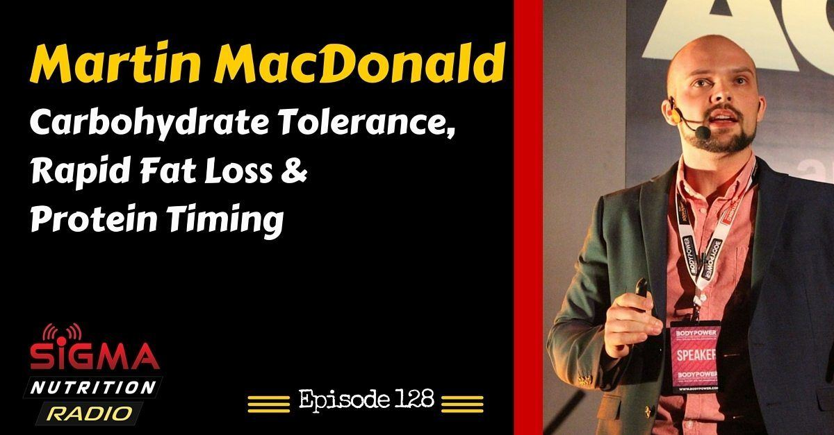 MARTIN MACDONALD PODCAST NUTRITION