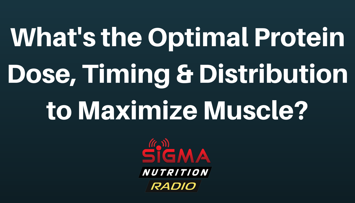 What's the Optimal Protein Dose, Timing & Distribution to Maximize Muscle-