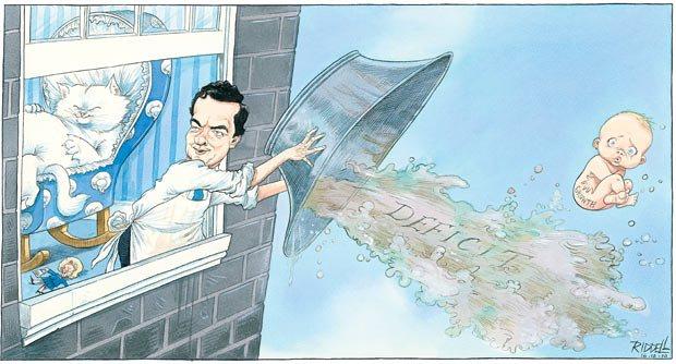 Chris Riddell cartoon. Illustration: © Chris Riddell