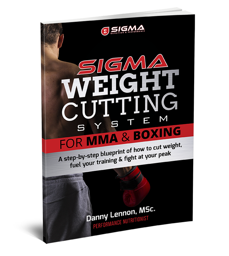 Sigma weight cutting system sigma nutrition the scientific approach to making weight fuelling performance in combat sports malvernweather Choice Image