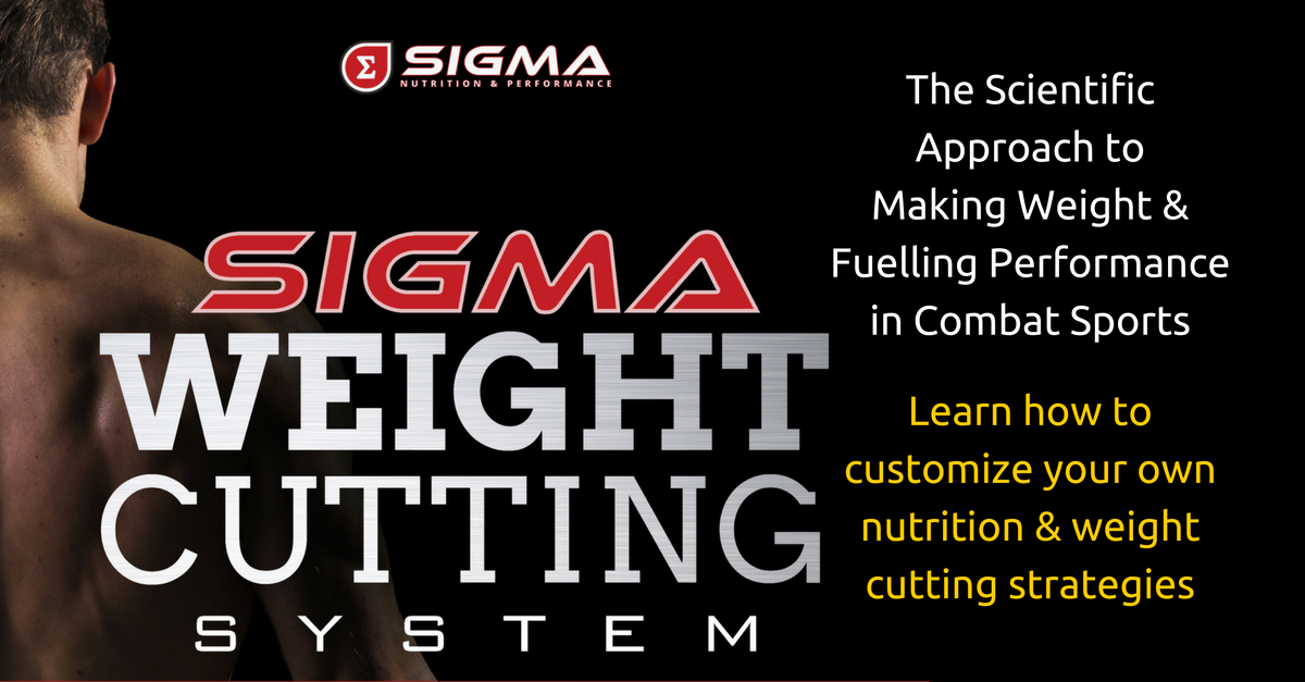 sigma weight cutting system