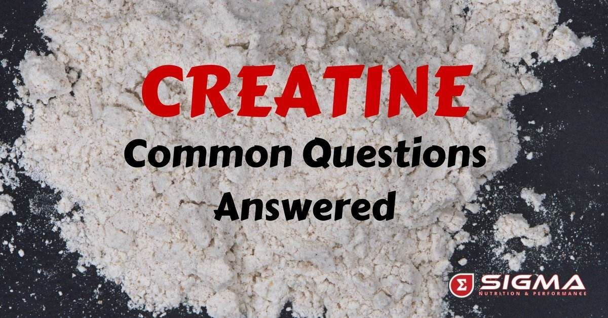 Creatine post graphic
